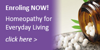 Enroling NOW for Homeopathy for Everyday Living Short Course!