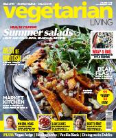 Vegetarian Living June17 cover