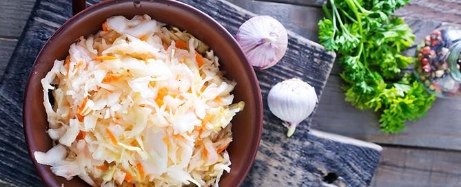 Sauerkraut-kimchi
