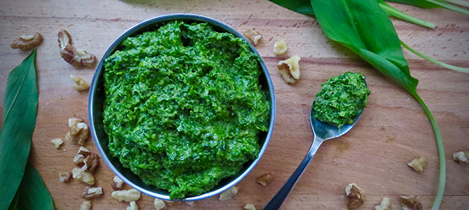 garlic-pesto-recipe