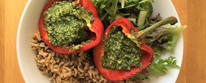 Pesto Roasted peppers 2 from CNM Genna Nelson