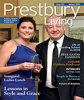 Prestbury Living Jan 18 Cover