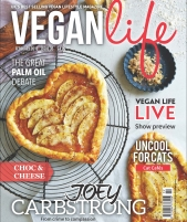 Vegan Life February 2018 Cover