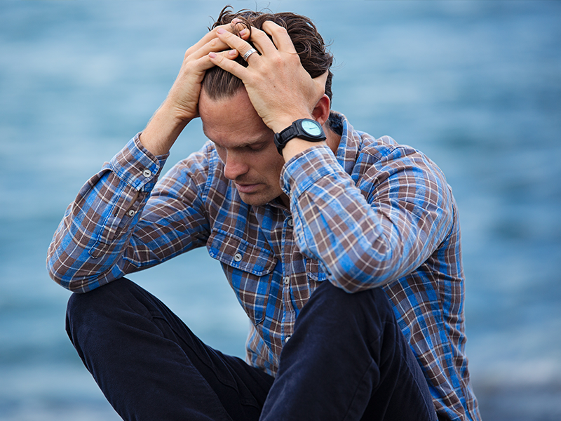 stress can be a leading cause of insomnia & sleep deprivation